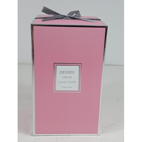 26 - Large orchid candle...
