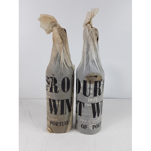 28 - 2 bottles of Portosantos 1977 port...