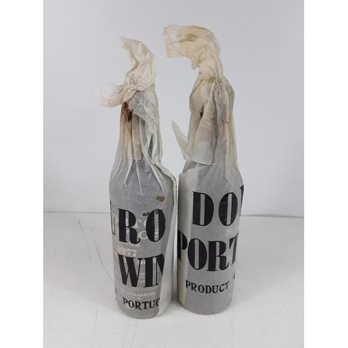 35 - 2 bottles of Portosantos 1975 port...