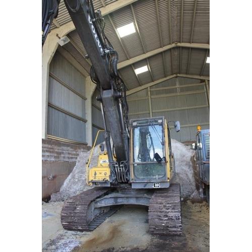 38 - Volvo EC160BLC Excavator...