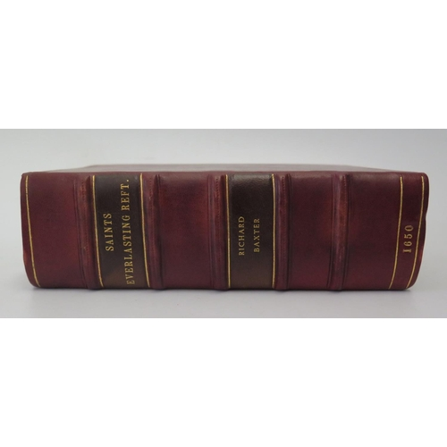 318 - Richard Baxter, The Everlasting Rest, printed by Robert White 1650, in modern full leather binding...