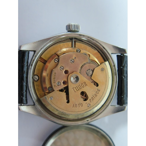 191 - A Tudor Oyster Prince Rotor Self Wind Stainless Steel Gent's Centre Seconds Wristwatch with 35mm dia...