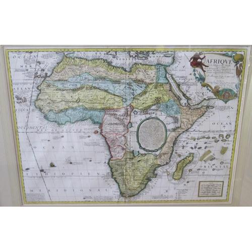 481 - CORONELLI, Vincenzo Maria. [Coronelli/Nolin map of Africa], Afrique selon les relations les plus nou...