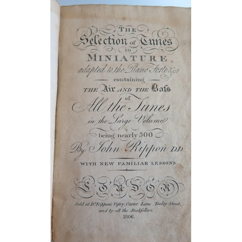 485 - Mozart's Quartets arranged in four volumes (Dedicated to the Prince of Wales and printed by R. Cocks...