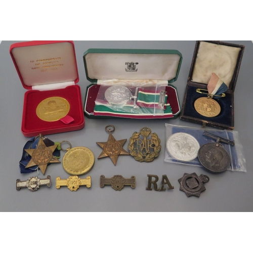 236 - A WWI four Medal Group awarded to 270791 CPL. W. R. E. TILBURY. R.E., cased Women's Voluntary Servic...