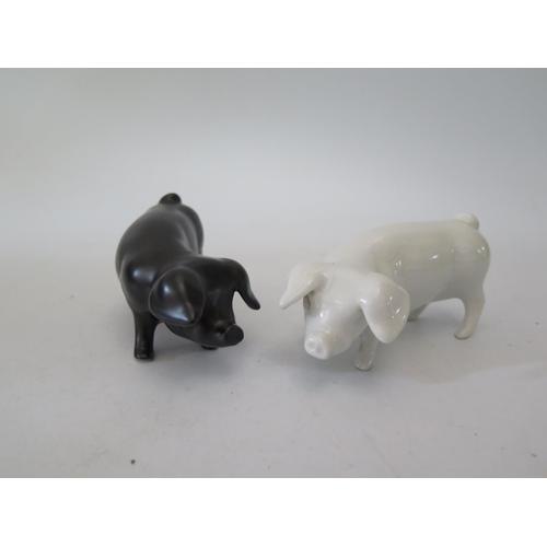 265a - A Pair of Royal Dux Pigs...
