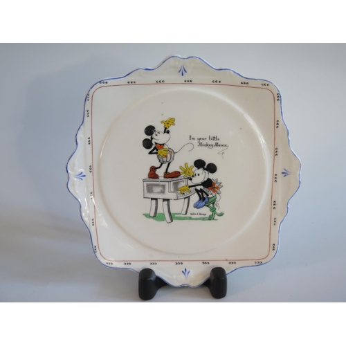 277 - A Royal Paragon Mickey Mouse Series Plate...