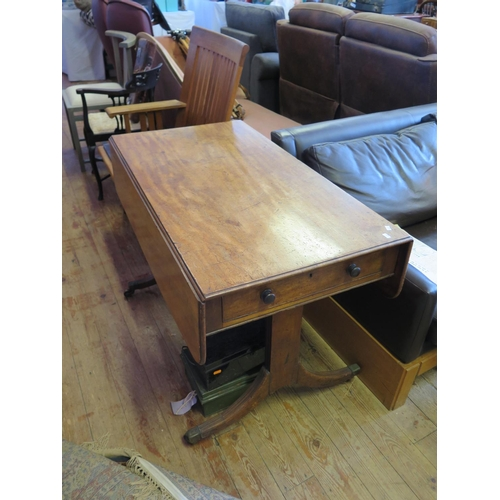 544 - A Nineteenth Century Mahogany Pembroke Table...