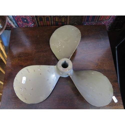 584 - A Bronze Propeller...