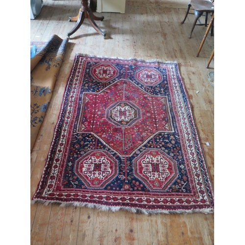 617 - A Large Persian Rug...