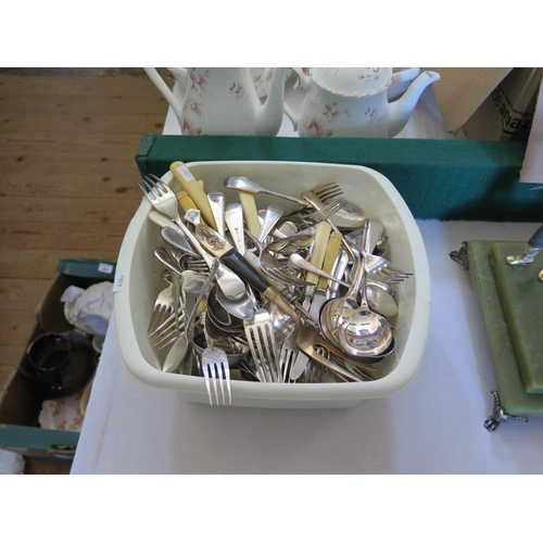 73 - A Selection of Plated Flatware...