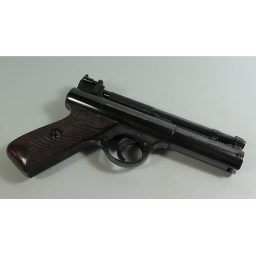 288 - A Webley & Scott 'Senior' .22 Air Pistol...