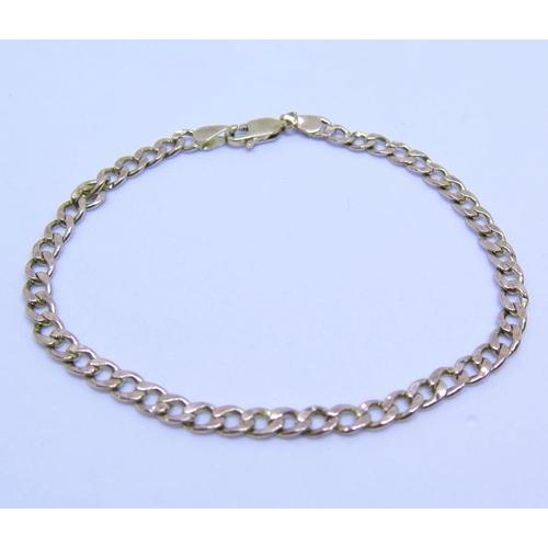 27 - A 9ct Gold Bracelet, 2.2g...