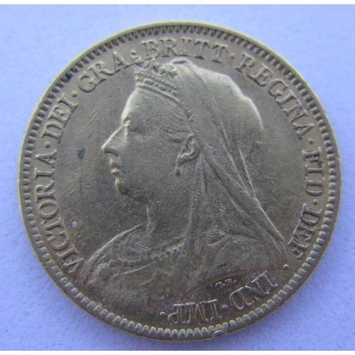 41 - A 1901 Gold Half Sovereign...