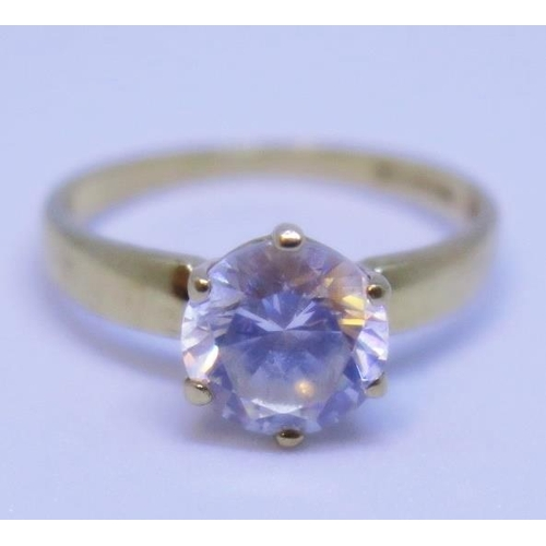 5 - A 9ct Gold Dress Ring, size I, 1.7g...