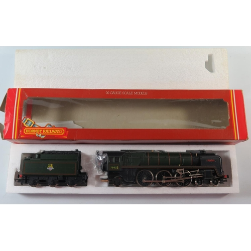 14 - A OO-Gauge  Hornby R033 B.R. Class 7MT 4-6-2 'Morning Star' renamed 'Tornado', boxed AND R250 B.R. C...