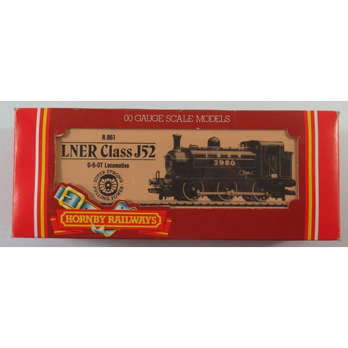22 - A OO-Gauge Hornby R088 LMS Class 4P 2-6-4T Loco, boxed and appears unused AND R861 Lner 0-6-0T Loco ...