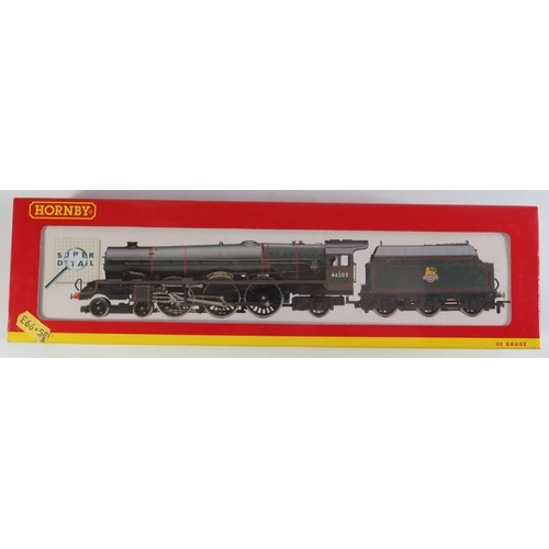 29 - A OO-Gauge Hornby R2226 B.R. 4-6-2 Princess Class 'Margaret Rose', boxed and appears unused...
