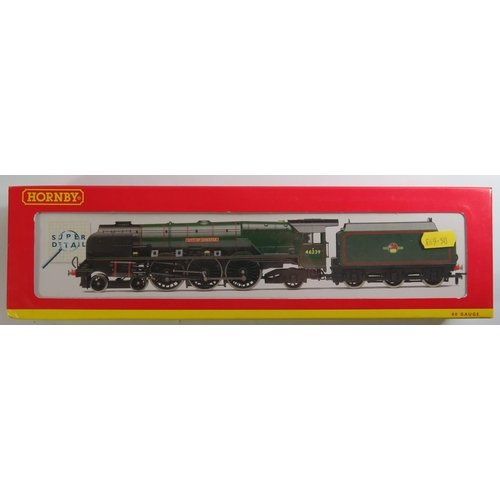 44 - A OO-Gauge Hornby R2312 B.R. 4-6-2 Duchess Class 'City of Chester', boxed and appears unused...