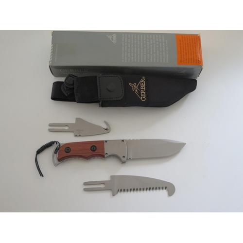 40 - A Gerber Freeman Exchange A Blade Knife 22-07169...