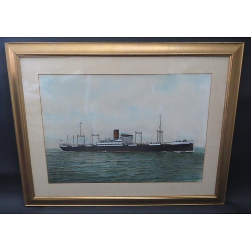 10 - W. Haig Parry Middlesborough 1922, FELICIANA, acrylic, F&G, 60x41cm...