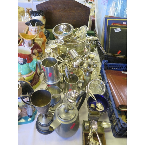 20 - A Large Selection of Electroplated Silver...
