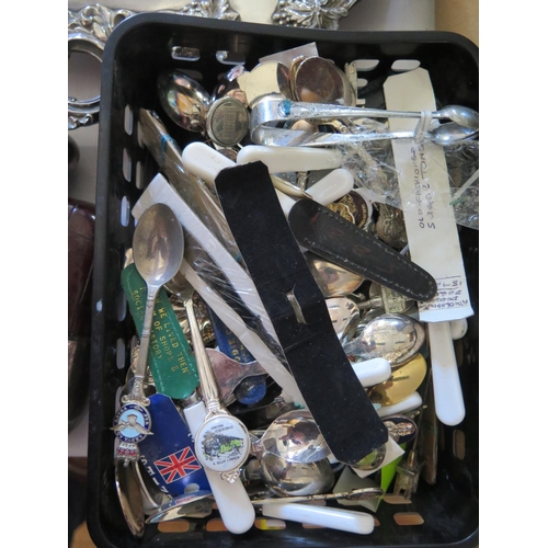 23 - A Box of Collector's Spoons WITHDRAWN BY VENDOR...