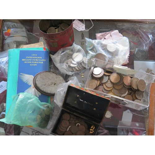 801a - A Selection Of Coins & Notes...