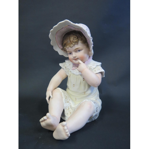 1248 - A Biscuit Piano Baby, 28cm...