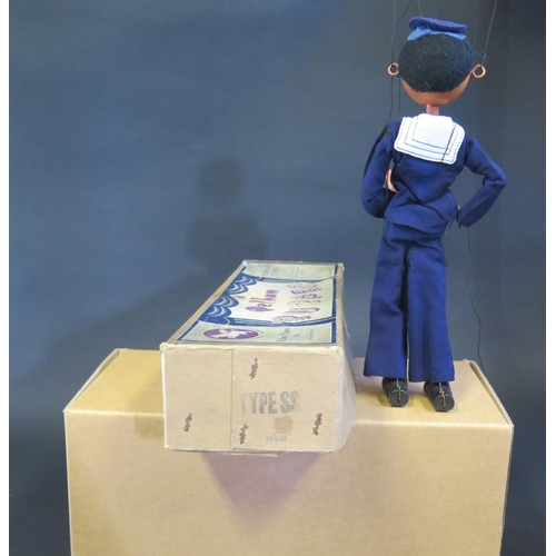 33 - A Pelham Puppet Sailor in Box...