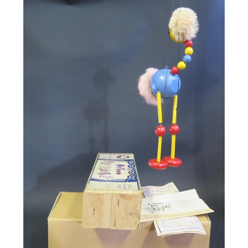 34 - A Pelham Puppet Ostrich in Box...