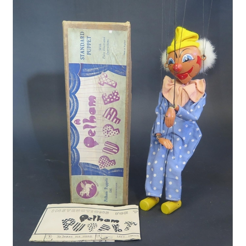 36 - A Pelham Puppet Clown in Box...