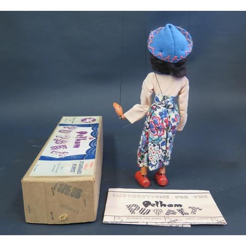 37 - A Pelham Puppet Mexican Girl in Box...