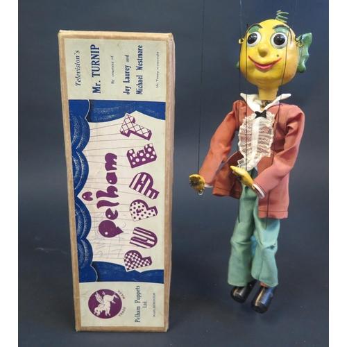 38 - A Pelham Puppet Mr. Turnip in Box...