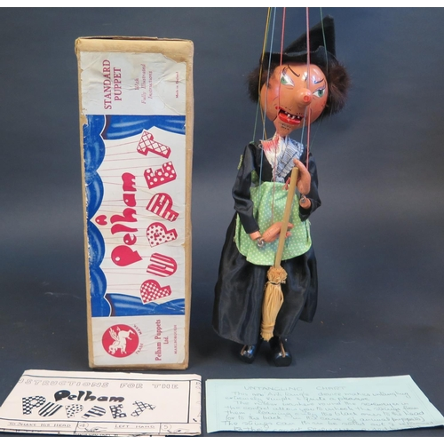 40 - A Pelham Puppet Witch in Box...