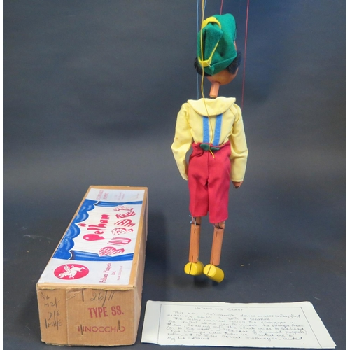 42 - A Pelham Puppet Pinocchio in Box...