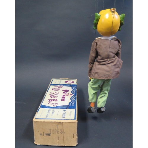 45 - A Pelham Puppet Mr. Turnip in Box...