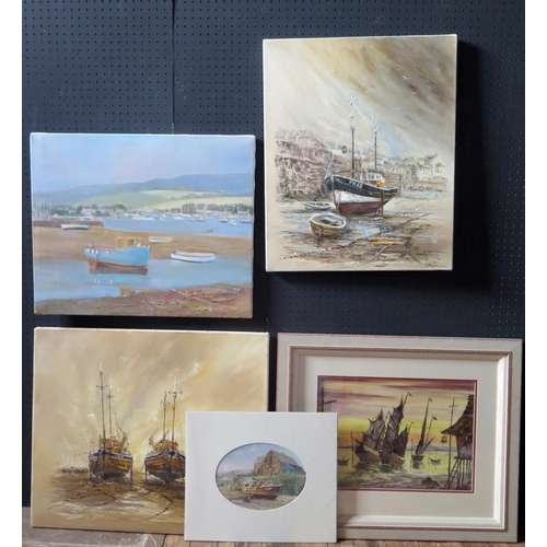 700 - Wyn Appleford, 20th/21st Century, Born in Aberdeen, Extensive Maritime Painter. Now living in the So...