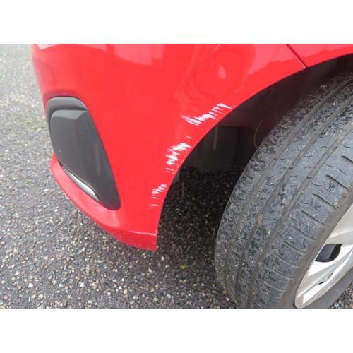 1 - WF65 GGP _ Peugot 108 ACTIVE 5 Door Hatchback in red, manual, 9999 miles when collected!  DECEASED E...