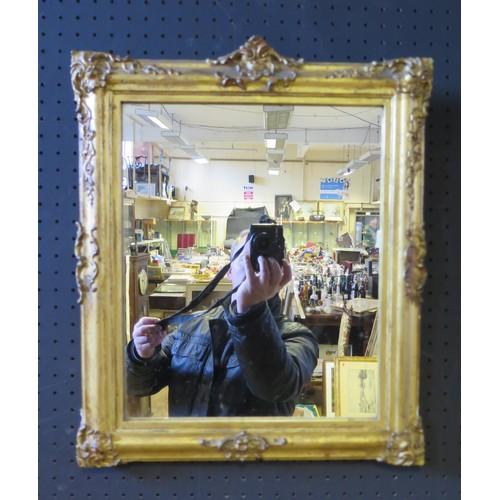 1339a - Antique Gilt Framed Mirror, 38cm x 45cm overall measurment...