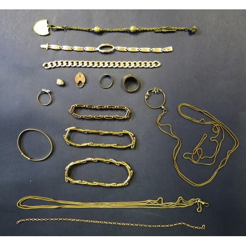 5 - A Selection of Gold Plated Jewellery