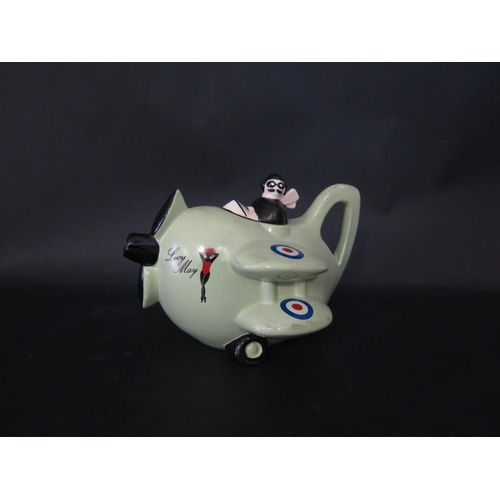 1296 - A Carlton Ware Lucy May Collector's Teapot