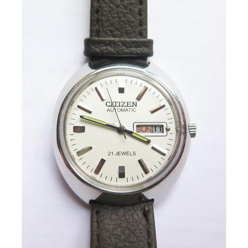 373 - A Citizen Automatic Gent's Wristwatch, running...