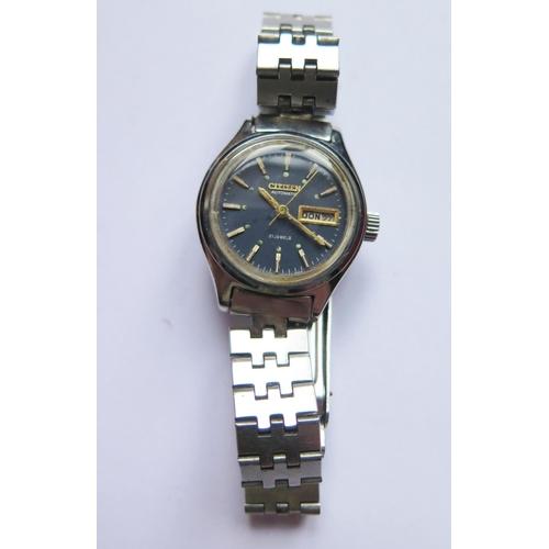 378 - A Ladies CITIZEN Automatic Wristwatch, running...