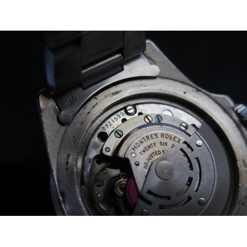 393a - A ROLEX Gent's Submariner with original bracelet, ref: 1680, 1970's, bracelet stamped 501 93150, box...