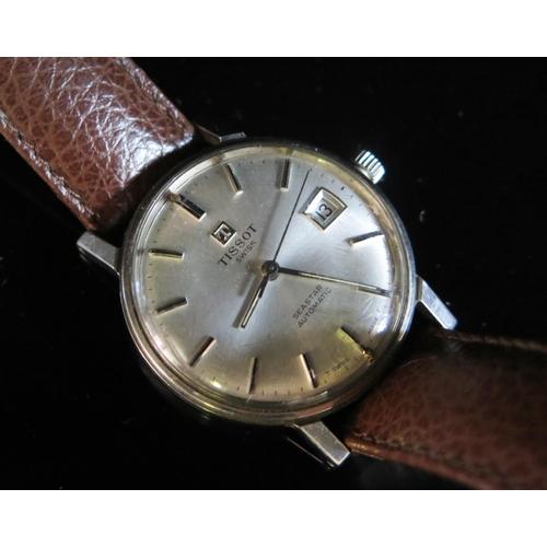404 - A TISSOT Seastar Automatic Steel Cased Gent's Wristwatch