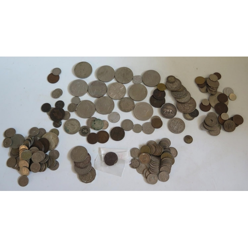 459 - A Selection of Silver and other Coins