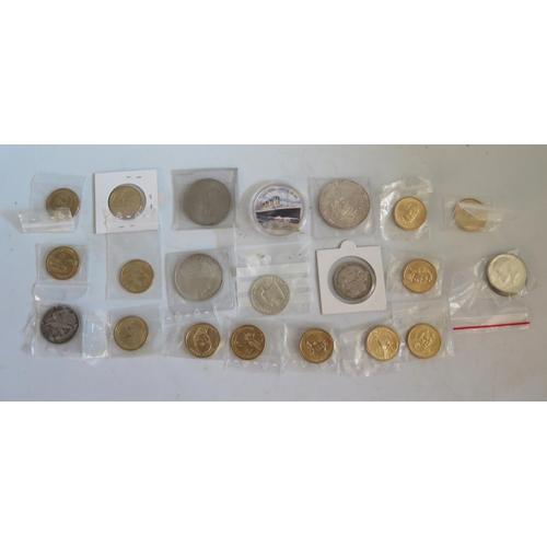 460 - An 1892 Columbian Silver Half Dollar, 1993 silver dollar etc.