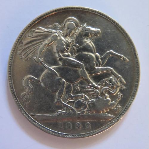 463 - An 1892 Silver Crown