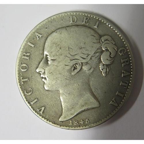 474 - A Victorian Silver Crown 1845